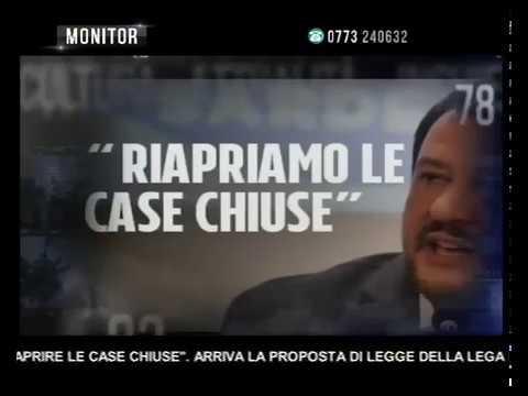 Monitor Lazio Tv   'PROSTITUZIONE, RIAPRIRE LE CASE CHIUSE'