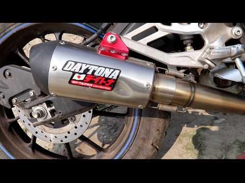Daytona Exhaust On Yamaha R15 V3 0 Fully Modified R15 V3 0 Thanks