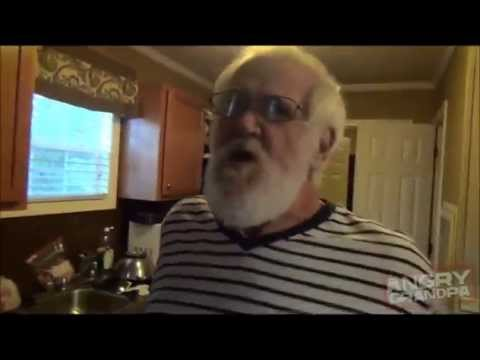 Angry Grandpa Is On Helium - Poor Man's Lasagna Meltdown