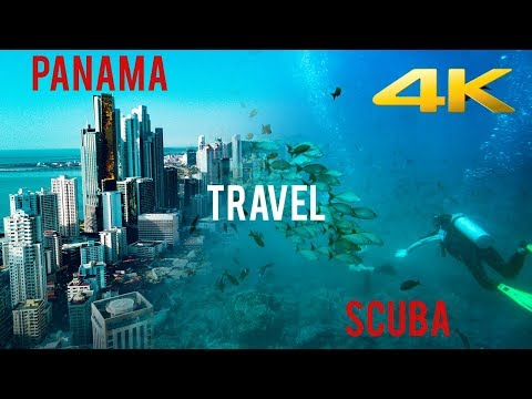 Panama Travel & Scuba Diving 4K - Beaches, Sharks and more Part One