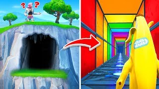 I Found a SECRET Default Deathrun in Fortnite!