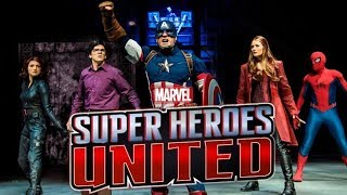 Marvel: Super Heroes United show at Disneyland Paris