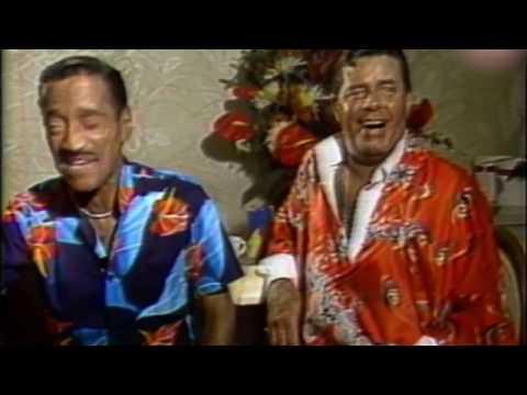 Jerry Lewis and Sammy Davis Jr interview '88