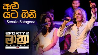𝟮𝗙𝗢𝗥𝗧𝗬𝟮 𝗠𝗔𝗔𝗧𝗛𝗥𝗔 LIVE  | Alu Yata Gini (අළු යට ගිනි) - Senaka Batagoda Thumbnail
