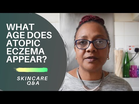 At What Age Does Atopic Eczema Appear?