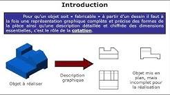 Principe de mise en position, Initiation isostatisme , cotation et côtes fabriquées