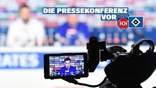 RELIVE: Die Pressekonferenz vor dem Spiel beim 1. FC Heidenheim