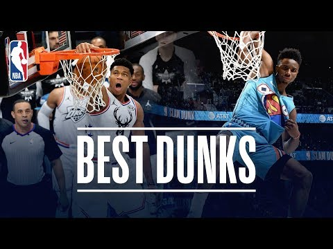 The Best Dunks From  NBA All-Star Weekend!