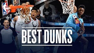 The Best Dunks From 2019 NBA All-Star Weekend! Video