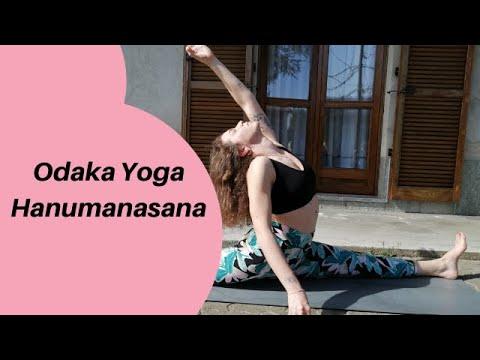 flow to hanumanasana spaccata  youtube