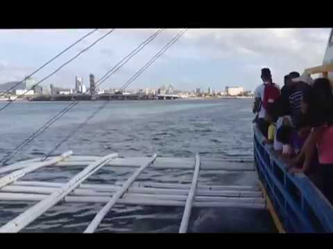 ARRIVING IN THE PORT OF CEBU CITY PHILIPPINES A  BRITISH EXPAT LIFESTYLE VIDEO