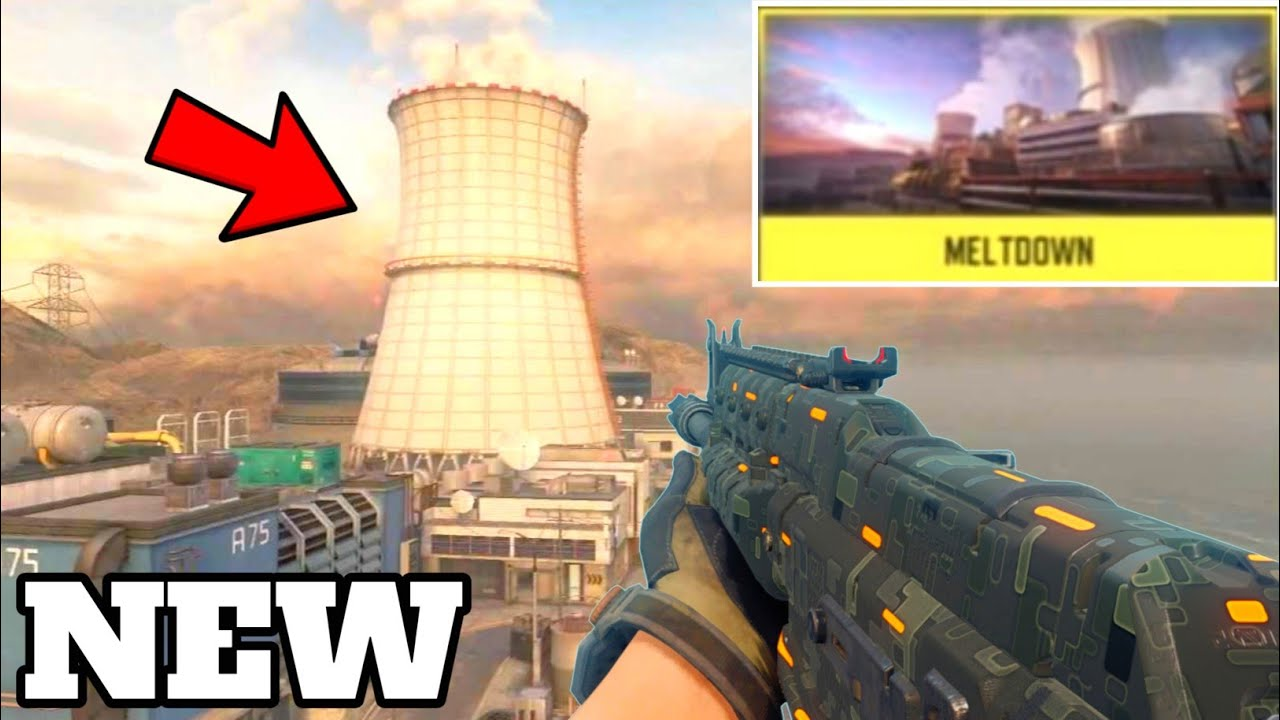 *New* Call of duty mobile Season 4 Map! (Meltdown) Call of duty Mobile Meltdown Gameplay! - YouTube