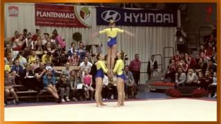 NSW Akro Team JUN WG Dynamic Stroppel Iris Flükiger Sina And Galla Veronika Fiac 2015