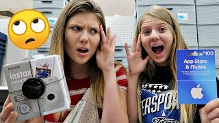 I'll BUY ANYTHING that STARTS with the LETTERS in your NAME Challenge | Taylor & Vanessa