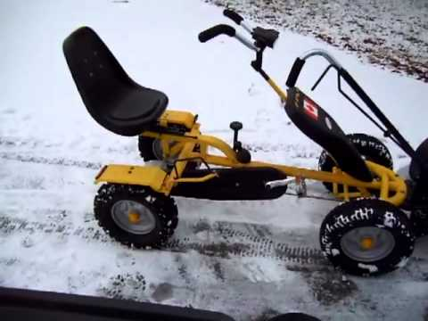 Pedal Powered Snow Plow #5 Quad and Trike
