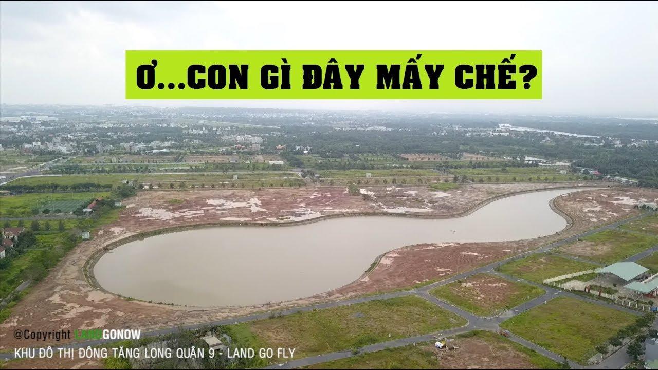 Khu đô thị Đông Tăng Long Quận 9 trên cao – Land Go Fly ✔