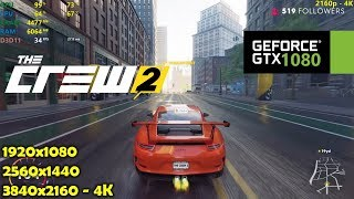 GTX 1080 | The Crew 2 - 1080p, 1440p, 4K Max Settings!
