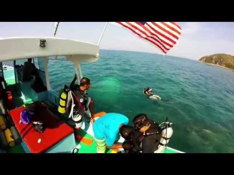 Learn Scuba Dive Singapore | Trip To Tanjung Resang Malaysia