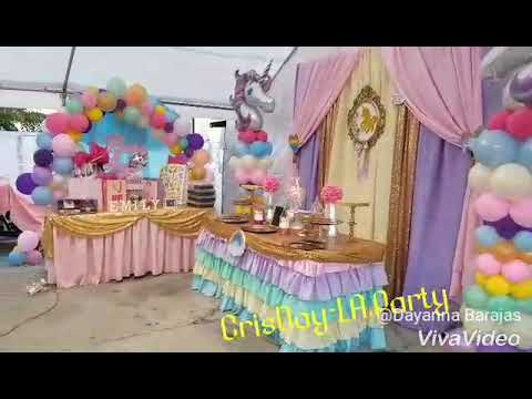 Decoracion Baby Shower Unicornio