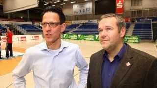 Die Mercedes Benz Niederlassung Dresden fördert den Volleyball-Nachwuchs vom DSC