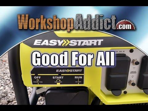RYOBI 3600 Watt Portable Generator Review - RY903600