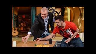 Ruhige Hand - Maximiliano ist deutscher Meister im Dice Stacking - TV total