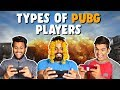 Types of PUBG PLAYERS | The Half-Ticket Shows