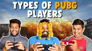 Types of PUBG PLAYERS | The Half Ticket Shows