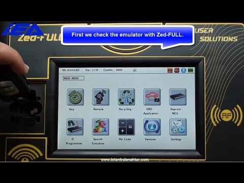 RENAULT FLUENCE Emulator 4 Remote Key Cloning Application 1
