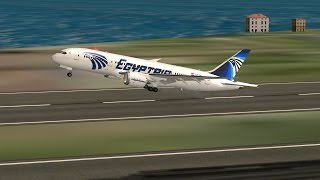 Flight 787 - Advanced - Boeing 787-8 DreamLiner-[EGYPTAIR from JAPAN,(RJTT) to South KOREA(RKSI)]