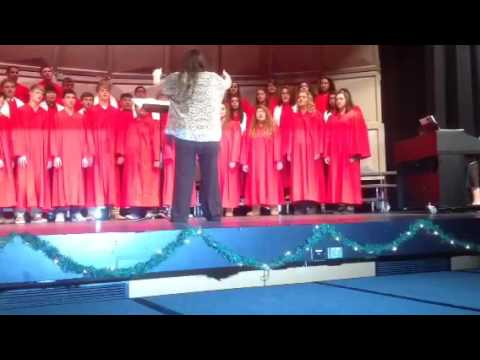 Sublette High School Christmas Program 2015