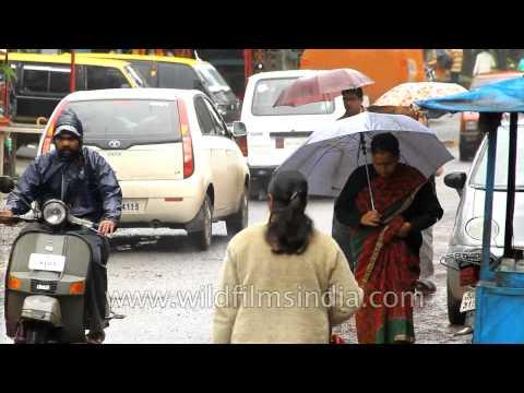 Life in Panchgani during monsoon