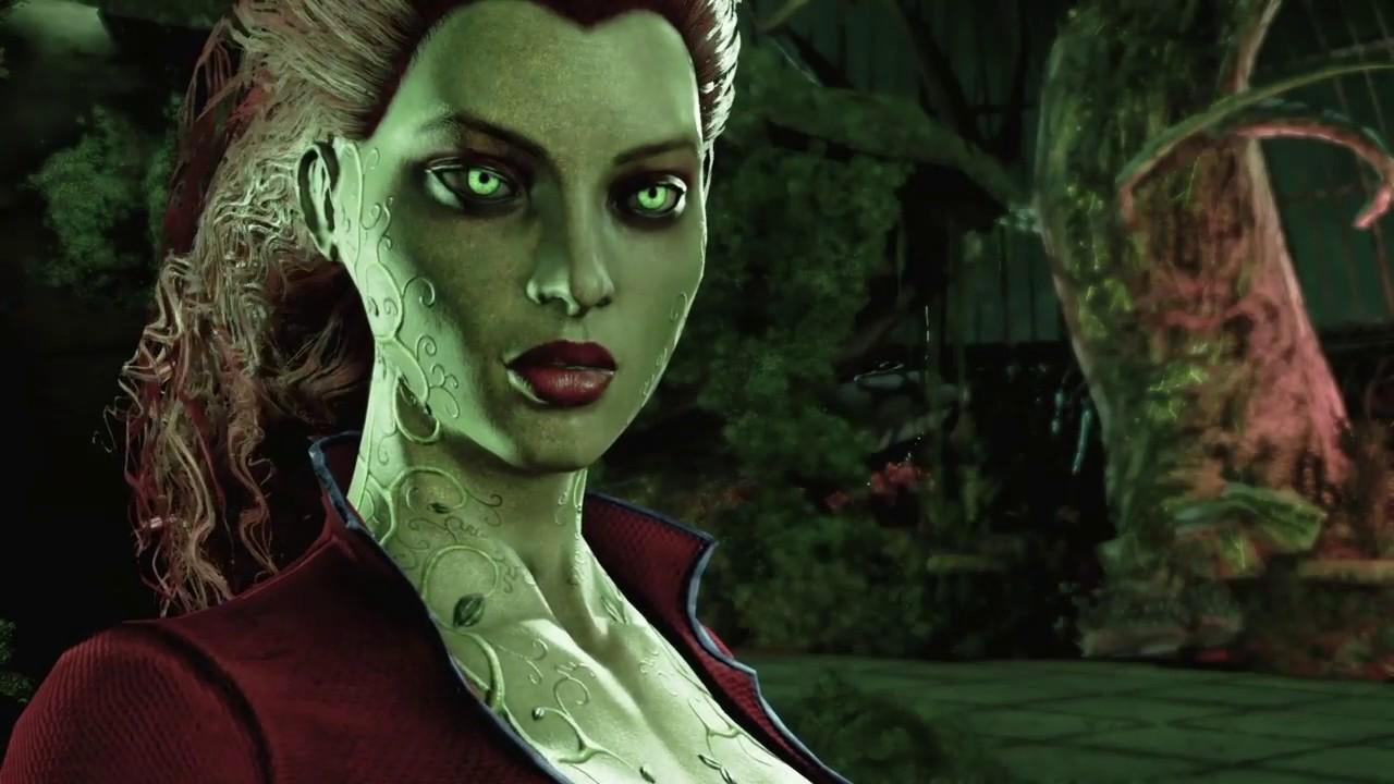 Batman Return To Arkham Arkham Asylum Poison Ivy Boss Fight