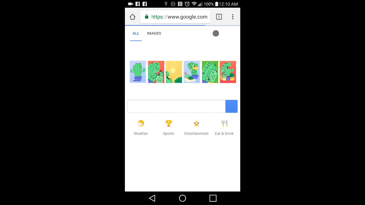 how to clear the cache in chrome mobile