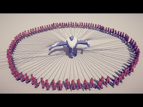 100x HARPOONS Vs EVERY UNIT - Totally Accurate Battle Simulator TABS