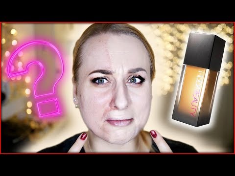 TEST: #FAUX FILTER HUDA BEAUTY + GRWM