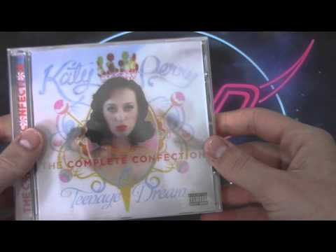 UNBOXING: Katy Perry - Teenage Dream (Deluxe + Complete Confection)