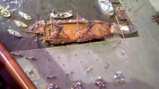 Ремонт днища корабля в 17 веке(, 2017-01-30T18:27:41.000Z)