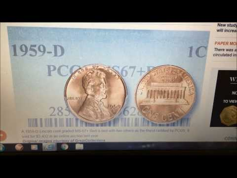 1959D PENNY SELLS FOR $3432 AT AUCTION!! WHY??