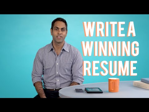 How to Write a Winning Resume, with Ramit Sethi