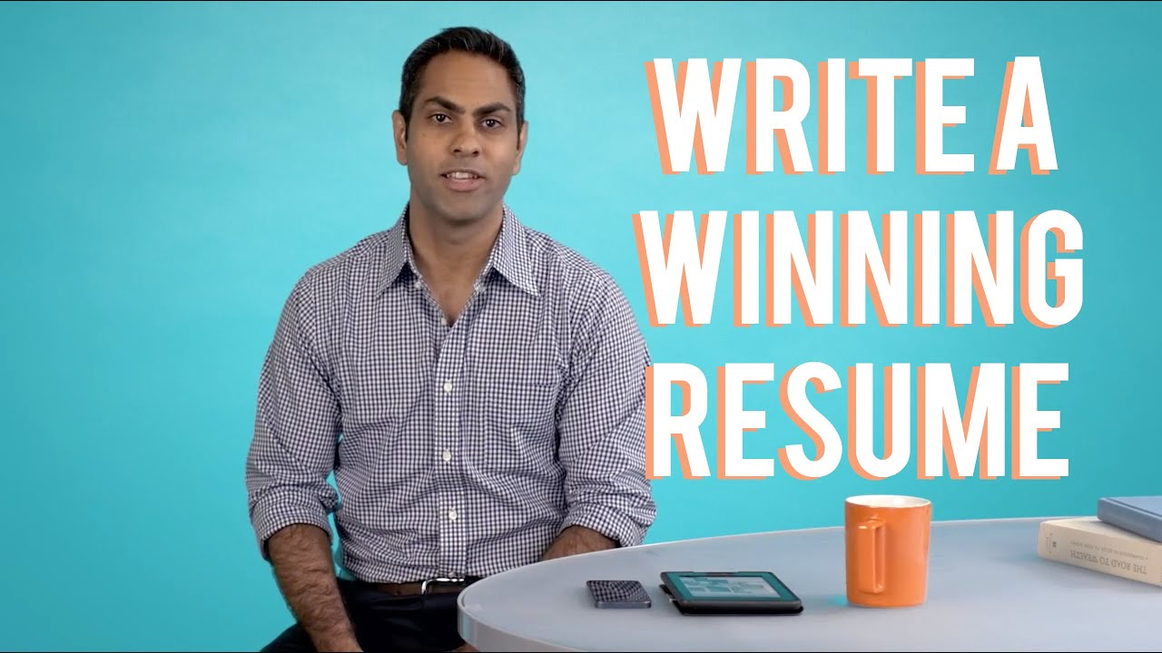 how to write a winning resume with ramit sethi youtube