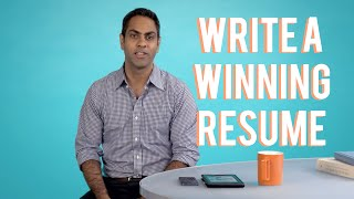 How to Write a Winning Resume with Ramit Sethi