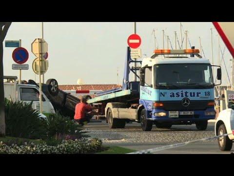 Attentat/Cambrils:images de la voiture des terroristes présumés