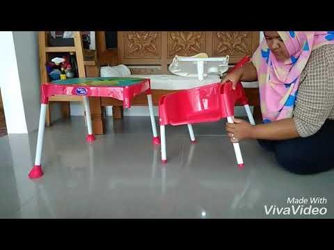 Cara Merakit High Chair Baby Safe HC03