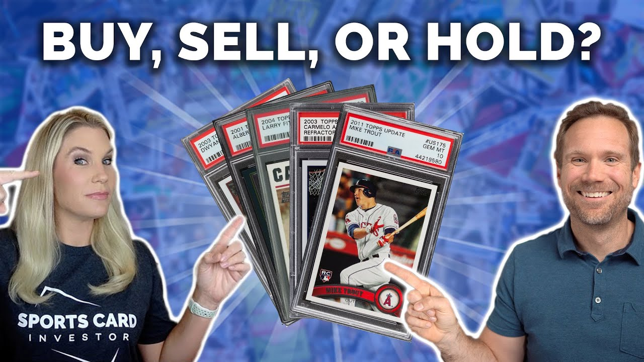 5 Sports Cards: BUY, SELL, or HOLD?📈📉(SELL Pujols and Trout?!?!)