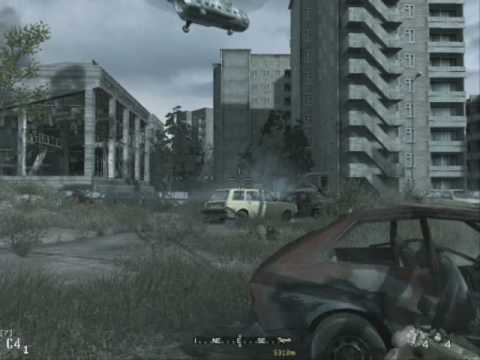 Call Of Duty 4 Mision En Chernobyl Hard No La Puedo