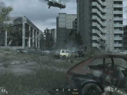 Call Of Duty 4 Mision En Chernobyl Hard No La Puedo