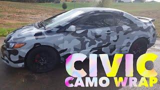 Civic Camo Wrap thumbnail