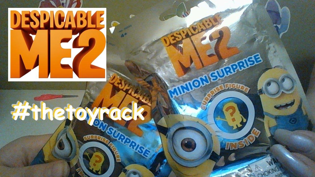 Despicable Me 2 Surprise Mini Figure Blind Bags!! We were ...