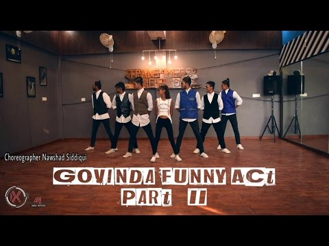 Govinda Funny Act Bollywood Dance part 2 ll Govinda Tribute ll #Nawshad Siddiqui-Choreography